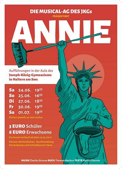 Annie_Flyer Plakat kl