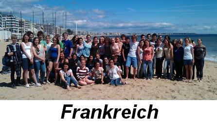 Austausch Frankreich Bild
