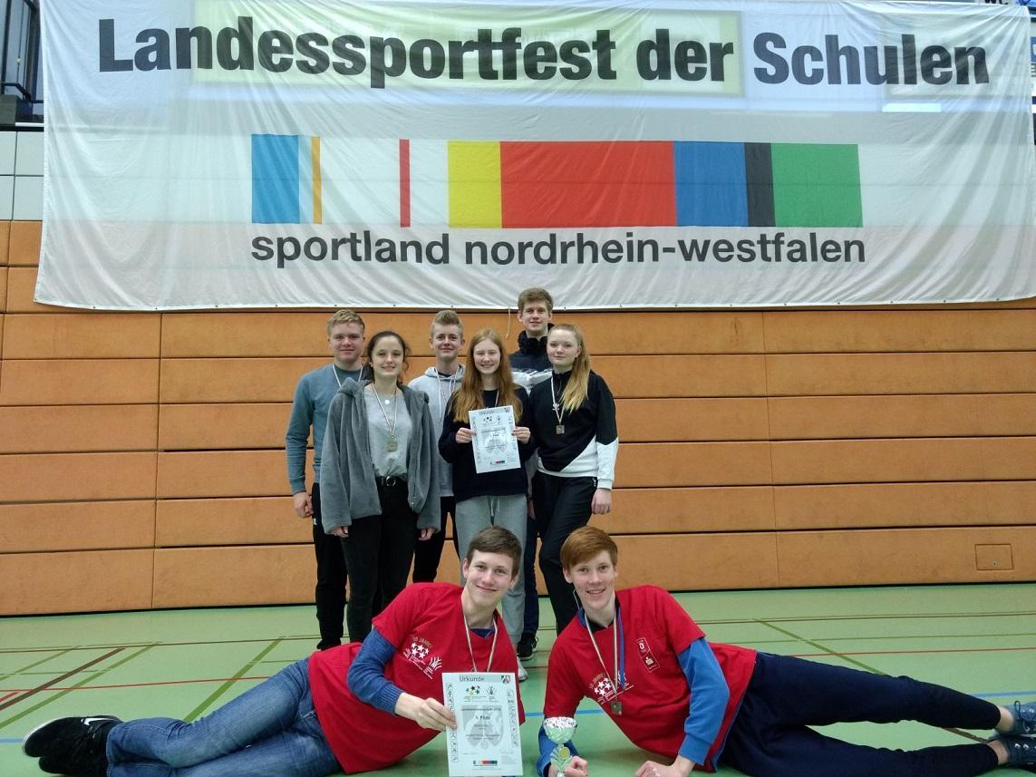 Badminton-Team zieht ins Landesfinale ein