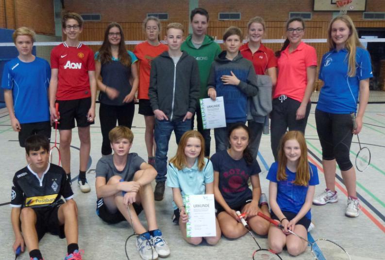 Badminton Bezirksebene 2016