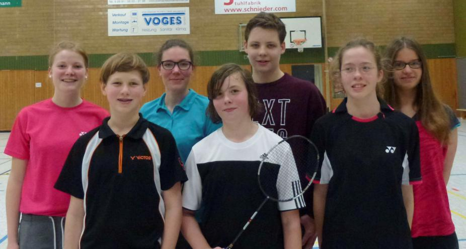 Badminton Kreismeister 2016 WK II