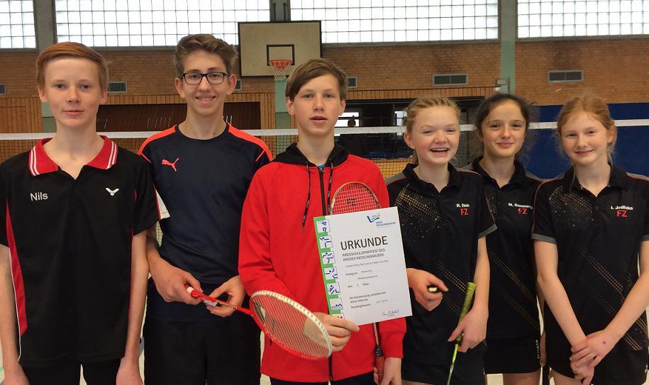 Kreismeister im Badminton