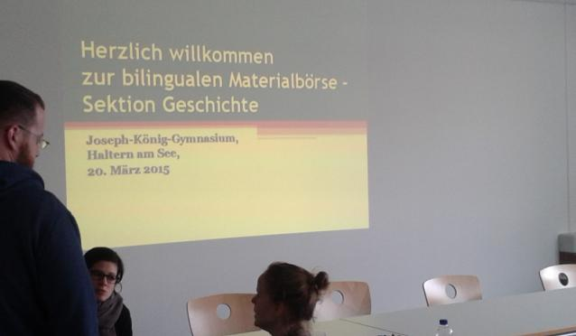Bilinguale Materialtauschbörse am JKG