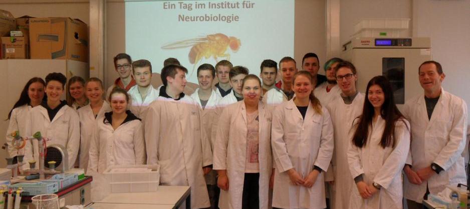 Erster Preis: Forschungstag an der Uni Münster