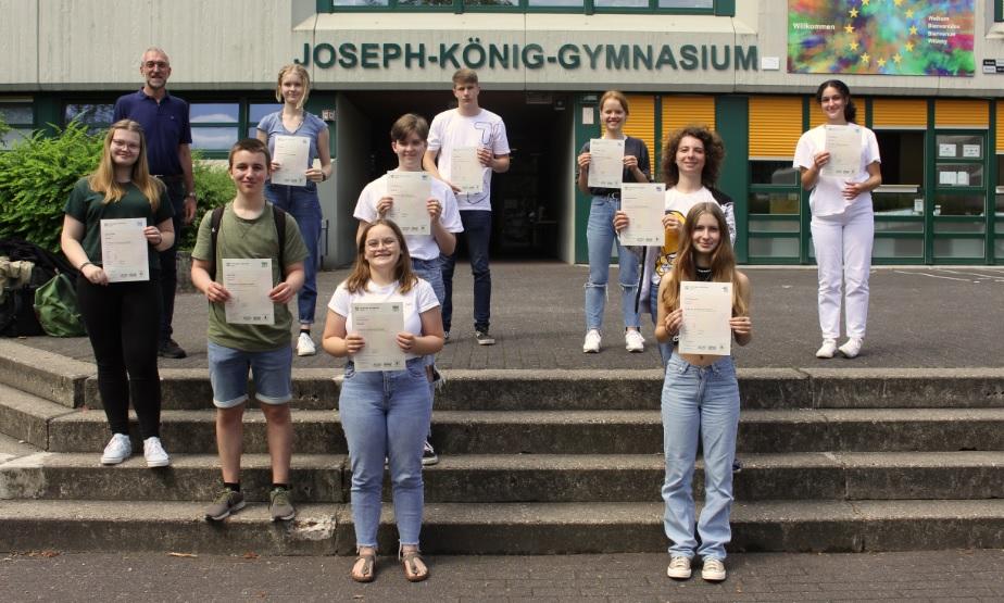 Gymnasiasten brillierten mit herausragenden Englischkenntnissen