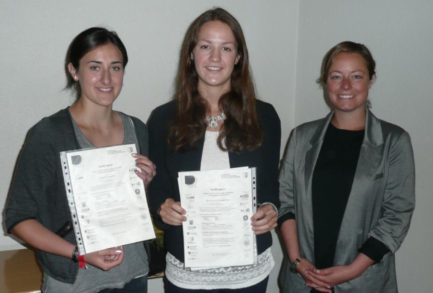 Verleihung der Certilingua-Exzellenzlabel in Münster