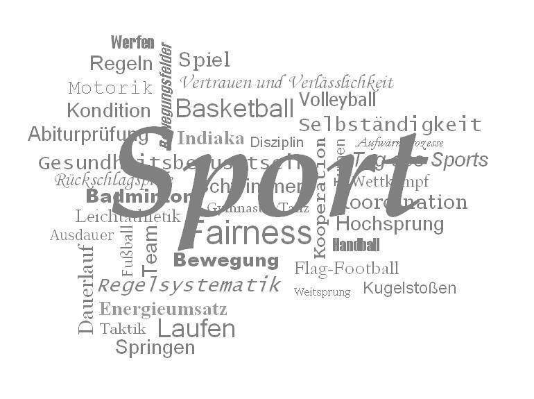Collage Sport Sport