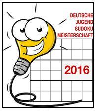 Deutsche Jugend Sudoku Meisterschaft 2016 LOGO