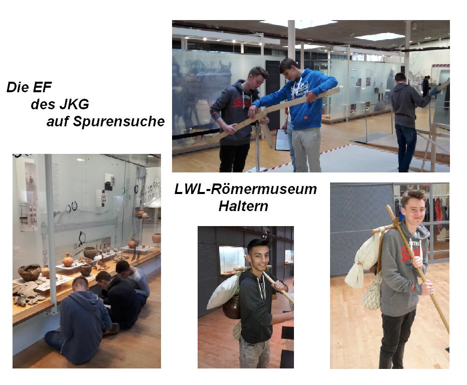 EF Römermuseum Collage