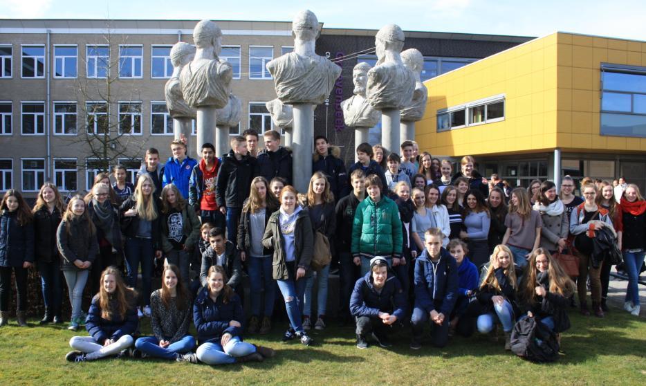 Bilingualer Schüleraustausch: 9a besuchte niederländische Partner in Ermelo