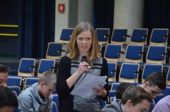 Europäisches Jugendparlament 2014 feb 25