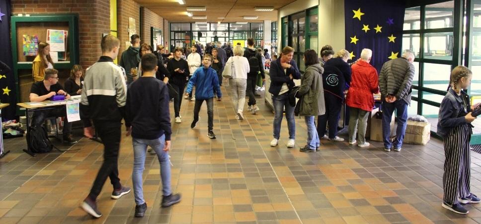 Gymnasium feierte Europafest