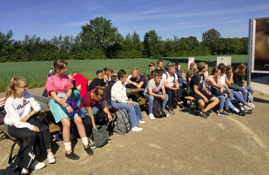 Schüler erkunden Energiequellen in Heiden