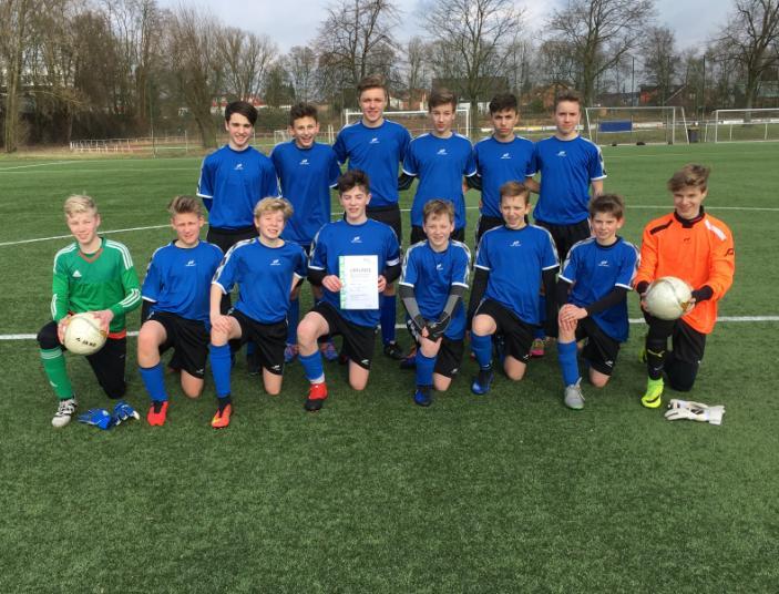 Joseph-König-Gymnasium ist Fußball-Kreismeister