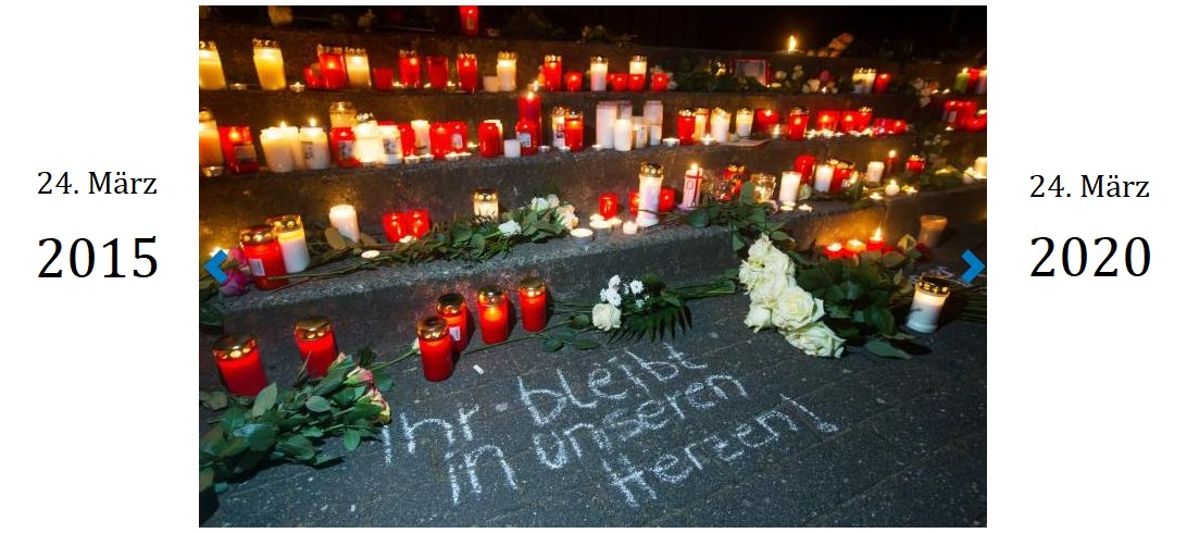 """Kirchengemeinden, Stadt und Joseph-König-Gymnasium rufen zu einem """"Licht des Gedenkens"""" auf"""
