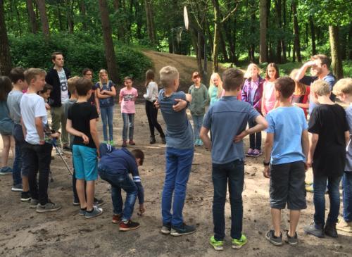 """""""Get together"""" – Die Klasse 5e in der Jugendbildungsstätte Gilwell Sankt Ludger"""