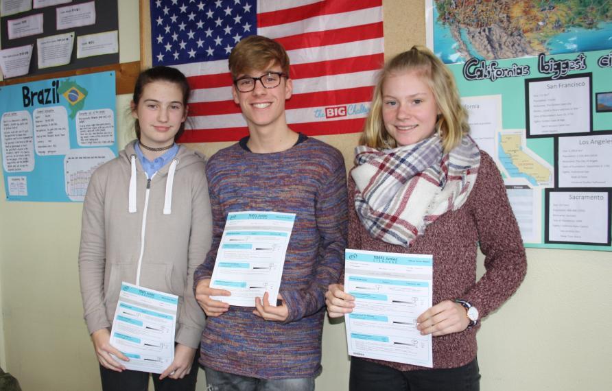 Erfolgreiche Teilnahme am Englischwettbewerb Go4Goal