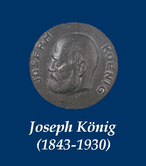 Joseph König - Münze Blau