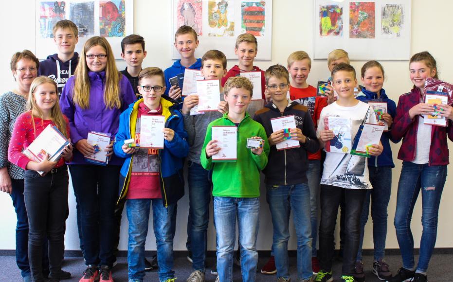 Erfolgreiche Teilnahme am Känguru-Wettbewerb