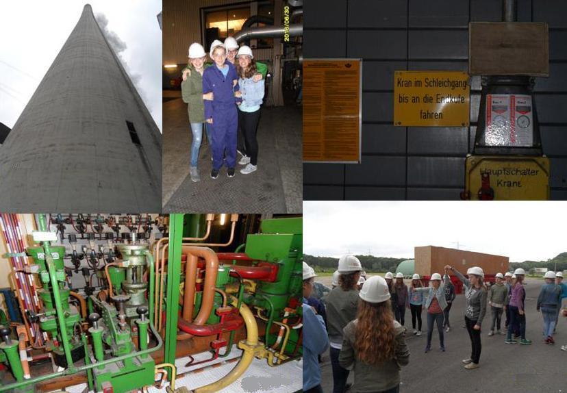 Neuntklässler besuchen das Kraftwerk Gelsenkirchen-Scholven
