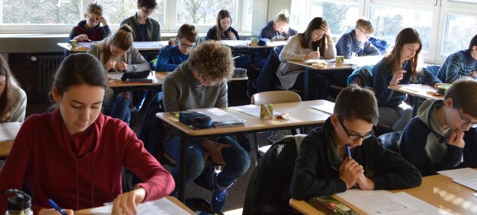 Mathematik-Olympiade in Haltern ausgetragen