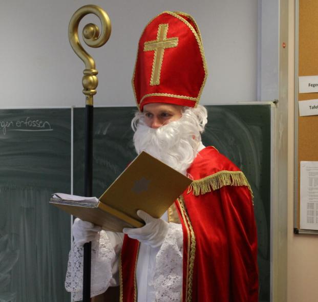 Überraschender Besuch vom Nikolaus