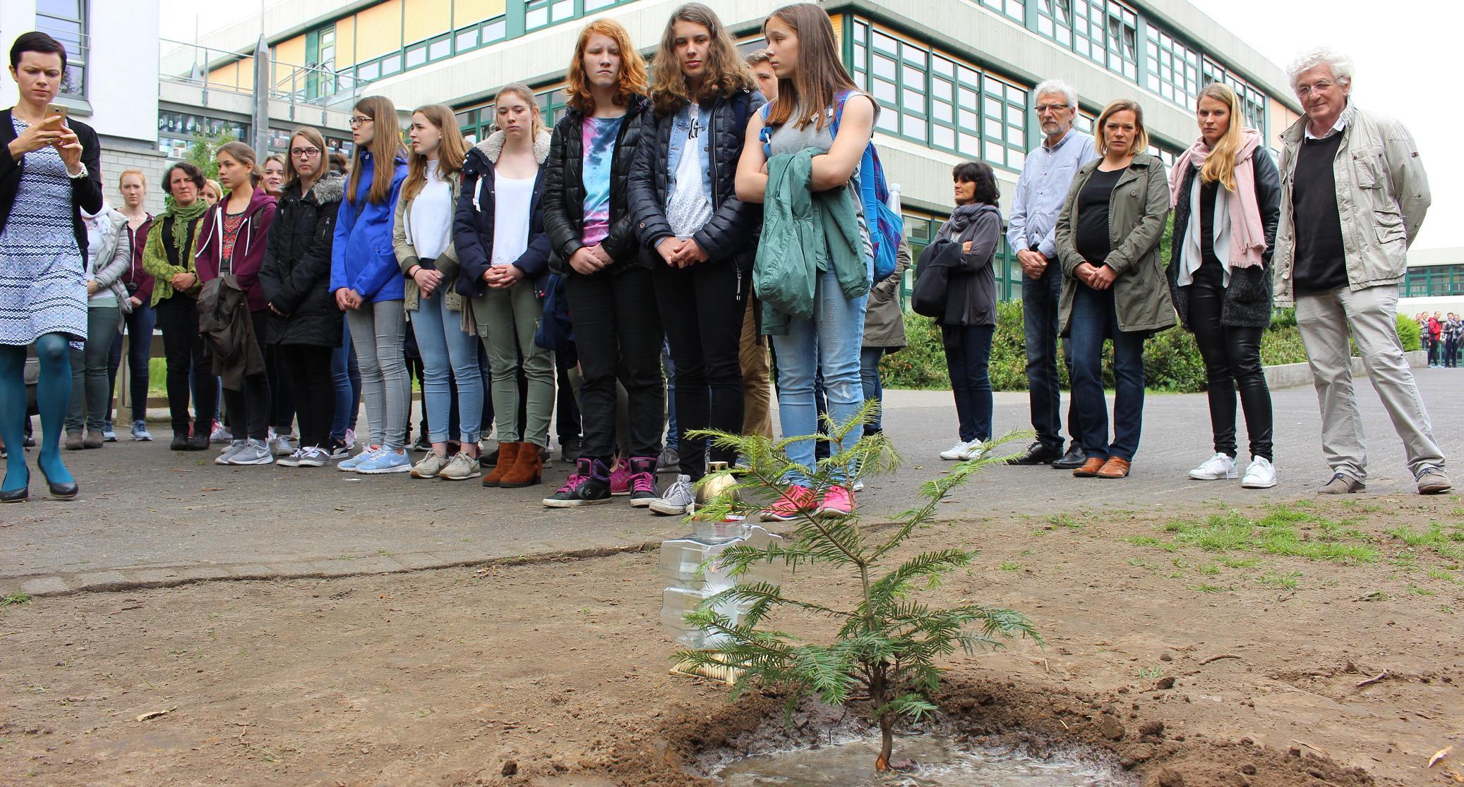 Delegation der polnischen Austauschschule zu Gast am Gymnasium
