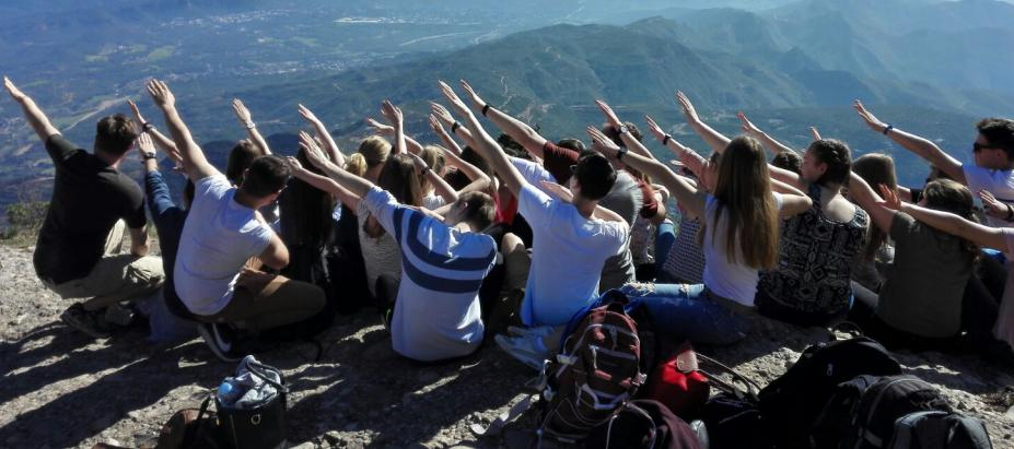 Spanischschüler zu Gast in Llinars del Vallès