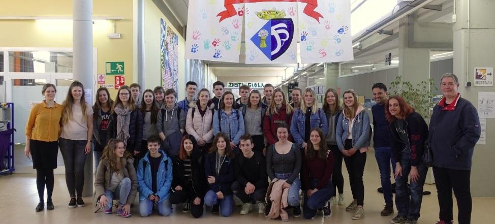 EF-Schüler besuchten unsere spanische Partnerschule