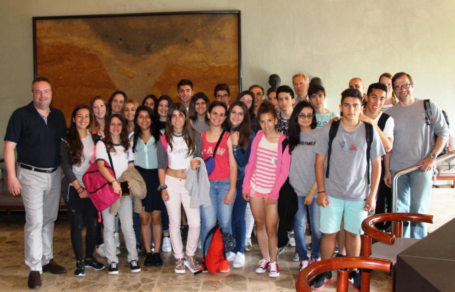 Spanische Austauschschülerinnen und –schüler zu Gast in Haltern