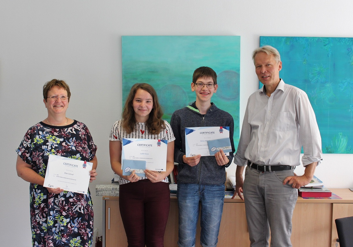 Herausragende Leistungen beim Europäischen Statistikwettbewerb