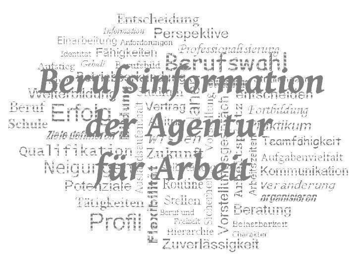 StuBo - WZ - Berufsinformation der Agentur für Arbeit