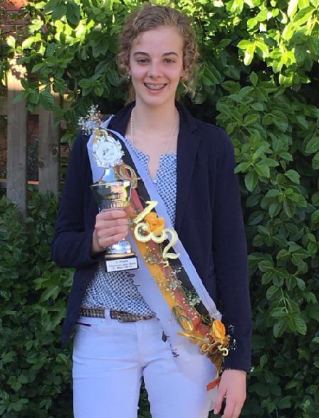 Unsere Schülerin Berit Pauls gewinnt die Deutsche Jugend Sudoku Meisterschaft 2016