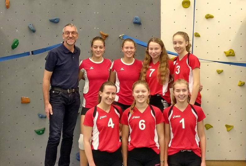 Volleyballerinnen im Bezirksfinale