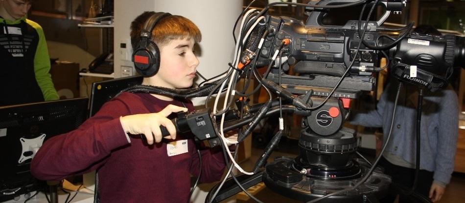Klasse 9a produziert TV-Magazin