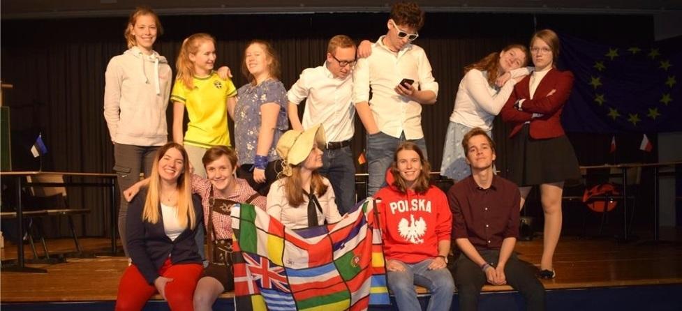 "Die Theater-AG präsentiert ihr Europa-Stück ""We can do better"""