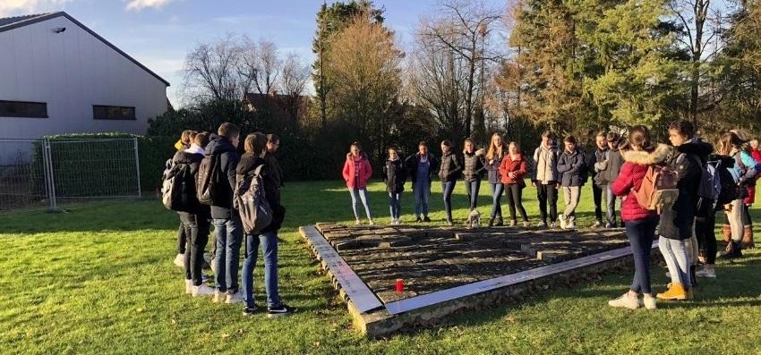 Neuntklässer besuchten die Erinnerungs- und Gedenkstätte Wewelsburg