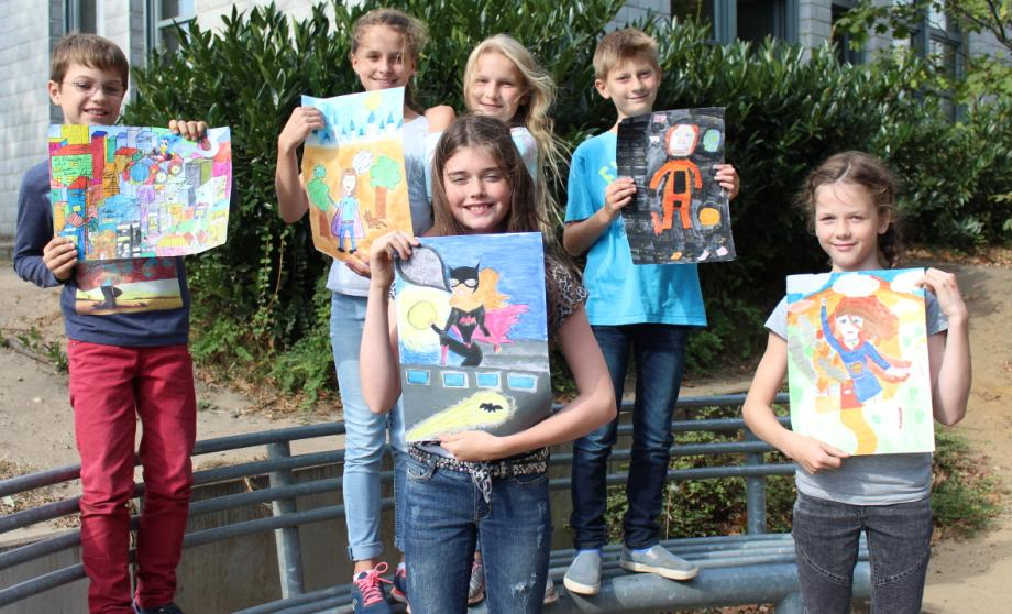 """Heldenhafte Kunstwerke beim diesjährigen Wettbewerb """"jugend creativ"""""""